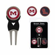 Mississippi Rebels Golf Divot Tool Pack