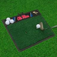 Mississippi Rebels Golf Hitting Mat