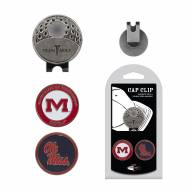 Mississippi Rebels Hat Clip & Marker Set