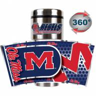 Mississippi Rebels Hi-Def Travel Tumbler