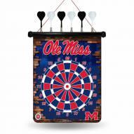 Mississippi Rebels Magnetic Dart Board