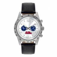 Mississippi Rebels Men's Letterman Watch