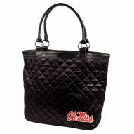 Mississippi Rebels NCAA Quilted Tote Bag