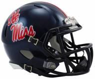 Mississippi Rebels Riddell Speed Mini Replica Football Helmet