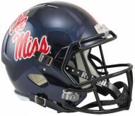 Mississippi Rebels Riddell Speed Replica Football Helmet