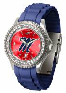 Mississippi Rebels Sparkle Women's Watch