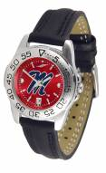 Mississippi Rebels Sport AnoChrome Women's Watch