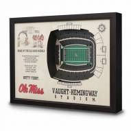 Mississippi Rebels Stadium View Wall Art