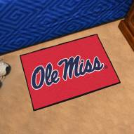 Mississippi Rebels Starter Rug
