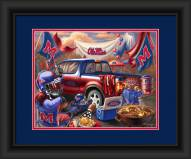 Mississippi Rebels Tailgate Framed Print