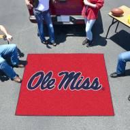 Mississippi Rebels Tailgate Mat