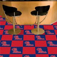 Mississippi Rebels Team Carpet Tiles