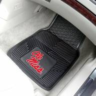 Mississippi Rebels Vinyl 2-Piece Car Floor Mats