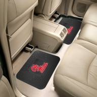 Mississippi Rebels Vinyl 2-Piece Rear Floor Mats