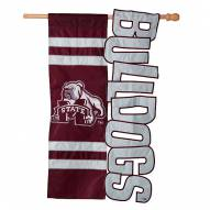 "Mississippi State Bulldogs 28"" x 44"" Applique Flag"