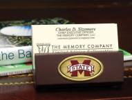 Mississippi State Bulldogs Business Card Holder