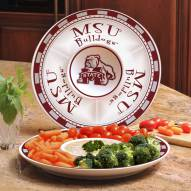 Mississippi State Bulldogs Ceramic Chip and Dip Serving Dish