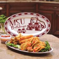 Mississippi State Bulldogs Ceramic Serving Platter