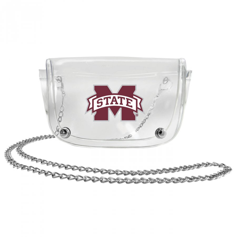 Mississippi State Bulldogs Clear Waistpack