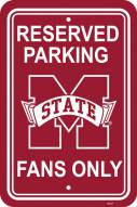 Mississippi State Bulldogs College Parking Sign