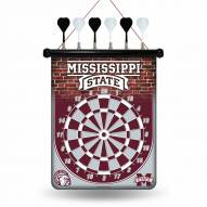 Mississippi State Bulldogs Magnetic Dart Board