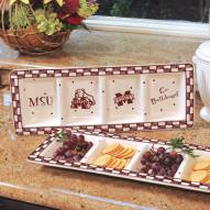 Mississippi State Bulldogs NCAA Ceramic Relish Tray
