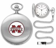 Mississippi State Bulldogs Pocket Watch - Silver