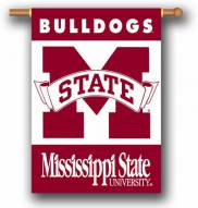 """Mississippi State Bulldogs Premium 28"""" x 40"""" Two-Sided Banner"""