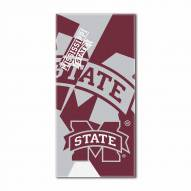Mississippi State Bulldogs Puzzle Beach Towel