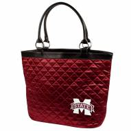 Mississippi State Bulldogs Quilted Tote Bag