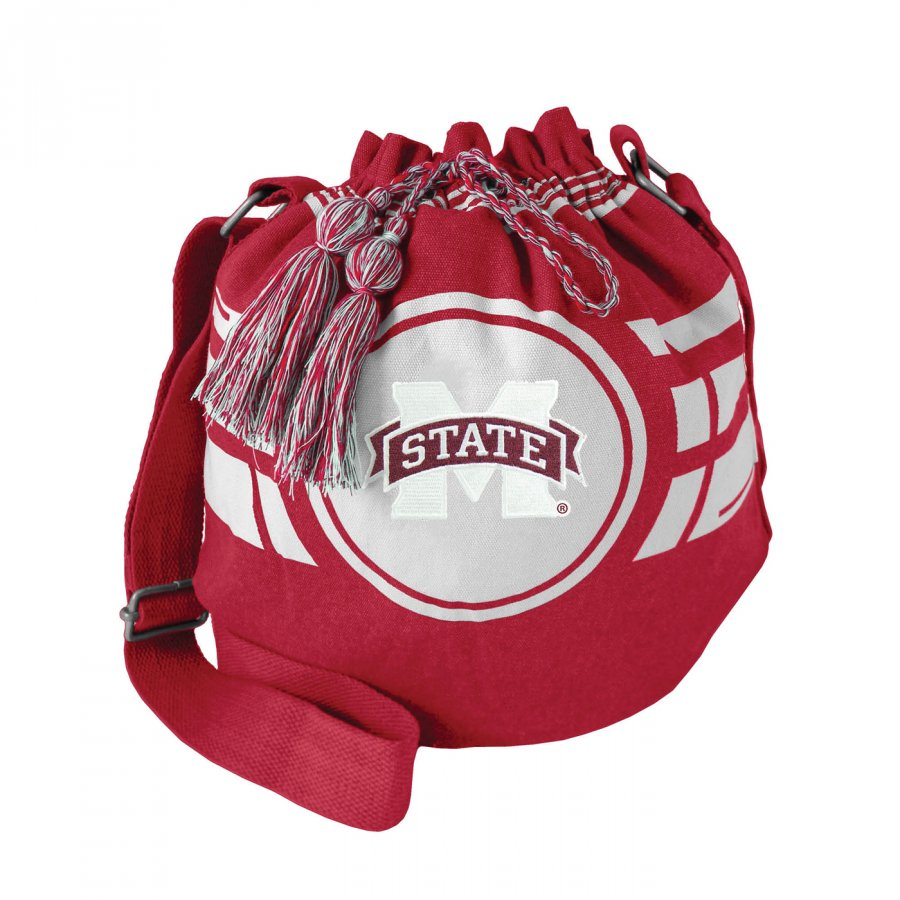 Mississippi State Bulldogs Ripple Drawstring Bucket Bag