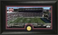 Mississippi State Bulldogs Stadium Bronze Coin Panoramic Photo Mint