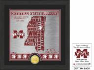 Mississippi State Bulldogs State Bronze Coin Photo Mint