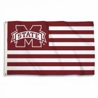 Mississippi State Bulldogs Stripes 3' x 5' Flag