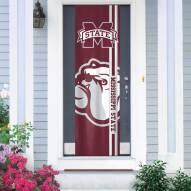 Mississippi State Bulldogs Door Banner