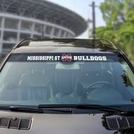 Mississippi State Bulldogs Windshield Decal