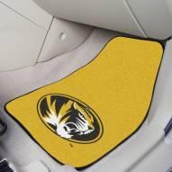 Missouri Tigers 2-Piece Carpet Car Mats