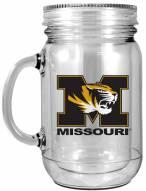 Missouri Tigers Double Walled Mason Jar