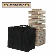 Missouri Tigers Giant Wooden Tumble Tower Game