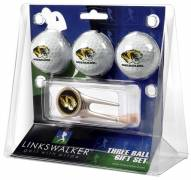 Missouri Tigers Golf Ball Gift Pack with Cap Tool