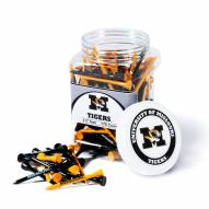 Missouri Tigers 175 Golf Tee Jar