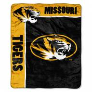 Missouri Tigers Jersey Mesh Raschel Throw Blanket