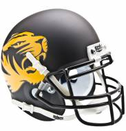 Missouri Tigers Matte Black Schutt Mini Football Helmet