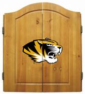 Missouri Tigers NCAA Complete Dart Board Cabinet Set