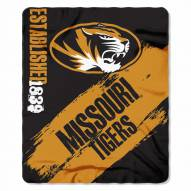 Missouri Tigers Painted Fleece Blanket
