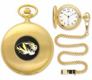 Missouri Tigers Pocket Watch - Gold