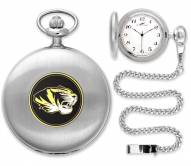 Missouri Tigers Pocket Watch - Silver