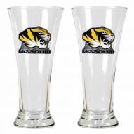 Missouri Tigers Premiere Pilsner Glass Set