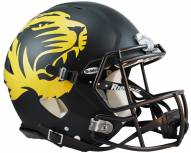 Missouri Tigers Riddell Speed Full Size Authentic Matte Black Football Helmet