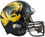 Missouri Tigers Riddell VSR4 Replica Full Size Matte Black Football Helmet
